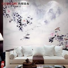 【无纺底棉】科翔无缝墙布中式 颜3-舒志  ,定高2.85米 ( Ⅲ)