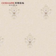 【天丝无纺布】科翔欧式无缝墙布丝语2-锦绣,定高2.75米( Ⅲ)