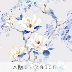 【天丝无纺布】科翔现代简约无缝墙布,一抹晨光-芳华,定高2.75米( Ⅲ)