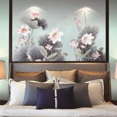 【提花布】科翔无缝墙布,蒂卡波-2,定制壁画,定高2.85米 ( Ⅲ)