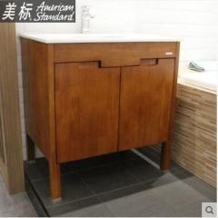 【浴室柜】美标静悦系列落地式浴室柜 SR82-SN1N400C0(820×565×830)MM(Ⅰ)