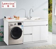 【洗衣柜】拉维纳全玉石+玉石盆洗衣柜,SRD-1160,1600*600*960mm(Ⅲ)