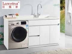 【洗衣柜】拉维纳全玉石+玉石盆洗衣柜,SRD-1180,1800*600*960mm(Ⅲ)