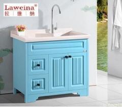 【洗衣柜】拉维纳全玉石+玉石盆洗衣柜,SRD-1810,1000*550*880mm(Ⅲ)