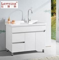 【洗衣柜】拉维纳全玉石+玉石盆洗衣柜,SRD-1811,1100*550*880mm(Ⅲ)