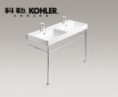 【台盆】科勒拂朗一体化台盆 1200MM,K-2748T-1-0(Ⅰ)