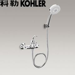 【龙头】科勒K-72666T-4-CP芙蒂挂墙式花洒龙头(手持花洒升级)(Ⅰ)