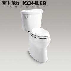 【马桶】科勒希玛龙分体座便器K-5706T/6345T-C-0,748×478×732mm(Ⅰ)