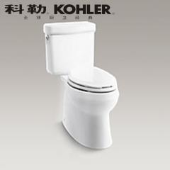 【马桶】科勒皮诺分体座便器K-7769T/7784T-C-0,745×686×735mm(Ⅰ)