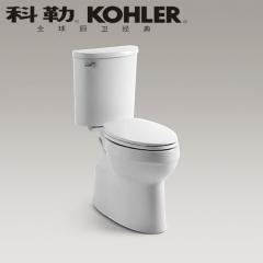 【马桶】科勒艾黛儿分体座便器K-8699T/8947T-S-0,680*423*750mm(Ⅰ)
