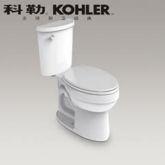 【马桶】科勒艾黛儿分体座便器K-9994T-0/9994T-S-0,680*423*750mm(Ⅰ)