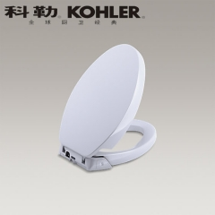 【智能盖板】科勒清馨加长型缓降座便器盖板K-5588T-0,(Ⅰ)
