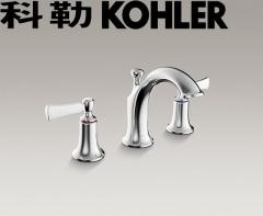 【龙头】科勒K-72781T-4-CP意丽丝双把脸盆龙头(Ⅰ)