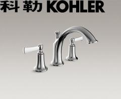 【龙头】科勒K-75521T-4-CP意丽丝双把缸边式浴缸龙头(Ⅰ)