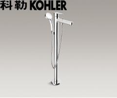 【花洒】科勒K-98614T-B4-CP齐悦落地式浴缸花洒龙头(需预埋底座97904T-NA)(Ⅰ)