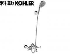 【花洒】科勒K-99030T-4-CP凯尔登挂墙式浴缸花洒龙头(Ⅰ)