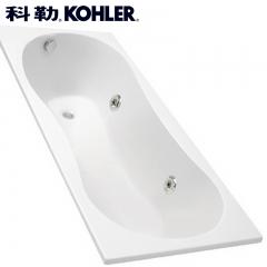 【浴缸】科勒贝诗嵌入式泡泡浴缸升级电子面板K-18234T-GE1/GE2-0(Ⅰ)