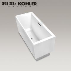 【浴缸】科勒艾芙 1.7米长方形嵌入式泡泡浴缸 K-45721T-G-0(Ⅰ)