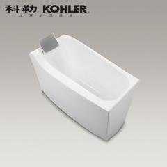 【浴缸】科勒沐云1.7米独立缸(含灰色浴枕)K-98154T(Ⅰ)