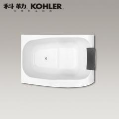 【浴缸】科勒沐云1.3米嵌入式泡泡缸(含灰色浴枕)K-45600T(Ⅰ)