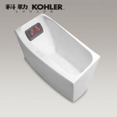【浴缸】科勒沐云1.7米独立式泡泡浴缸含灰色按摩浴枕K-99779T(Ⅰ)