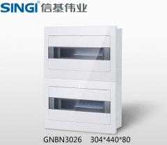 【配电箱】信基伟业照明电箱双排(透明暗装)GNBN30系列 (Ⅱ)