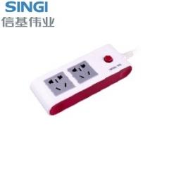 【接线板】信基伟业排插SWA-6802 (Ⅱ)