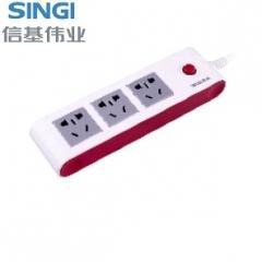 【接线板】信基伟业排插SWA-6803 (Ⅱ)