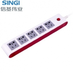 【接线板】信基伟业排插SWA-6805 (Ⅱ)