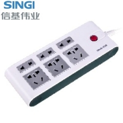 【接线板】信基伟业排插SWA-6806 (Ⅱ)