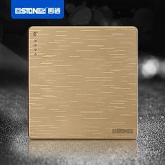 【ST-M1】四通金色ST-M1开关插座面板(Ⅲ)
