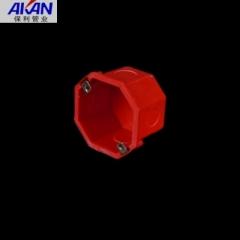 【线盒】保利红色八角线盒 (Ⅰ)
