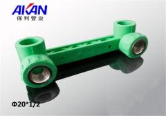 【冷热水管】保利绿色连体内丝弯头 (Ⅲ)