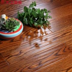 【纯实木地暖】大卫地板  北美红橡 卡布奇诺色S39G13-F1,910*117*18(Ⅰ)