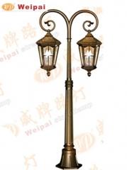 【庭院灯】威牌金牌压铸铝庭院灯,高1.4米,不含光源,6182(Ⅲ)