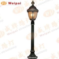 【庭院灯】威牌金牌压铸铝庭院灯,高1.2米,不含光源 6381(Ⅲ)