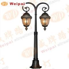 【庭院灯】威牌金牌压铸铝庭院灯,高1.4米,不含光源,6384 (Ⅲ)