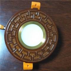 【筒灯】洋铭 3W筒灯 中式实木圆形筒灯(Ⅴ)