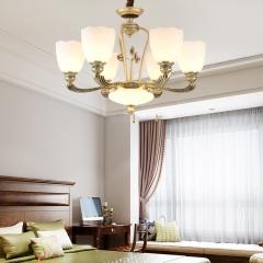 【吊灯】A3灯都世家66923欧式风格餐厅锌合金吊灯(Ⅴ)