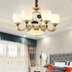 【吊灯】A3灯都世家66925欧式风格餐厅锌合金吊灯(Ⅴ)