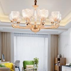 【吊灯】A3灯都世家66957欧式风格客厅锌合金吊灯(Ⅴ)
