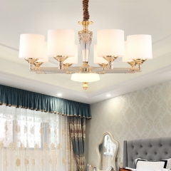 【吊灯】A3灯都世家66958欧式风格客厅锌合金吊灯(Ⅴ)