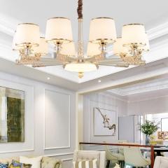 【吊灯】A3灯都世家66959欧式风格客厅锌合金吊灯,不配光源(Ⅴ)
