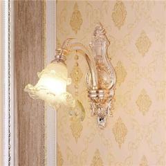 【壁灯】A2银海78020欧式锌合金水晶壁灯(Ⅴ)