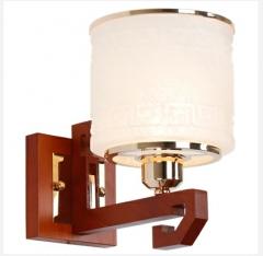 【壁灯】A2格莱美F6171新中式客厅实木壁灯(Ⅴ)