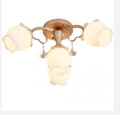 【吸顶灯】A1格莱美F4591美式卧室铝材吸顶灯(Ⅴ)