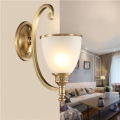 【壁灯】A2灯盟 7Y075 卧室床头灯过道纯铜灯具(Ⅴ)