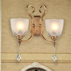 【壁灯】A2 灯盟 7Q015式全铜灯壁灯客厅背景墙卧室床头灯过道灯(Ⅴ)