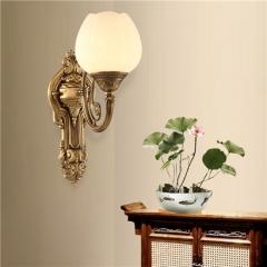 【壁灯】A2 灯盟 7T024全铜灯壁灯客厅背景墙卧室床头灯过道灯(Ⅴ)
