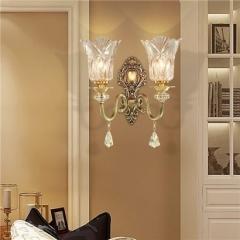 【壁灯】A2灯盟Q018客厅灯全铜卧室灯餐厅壁灯(Ⅴ)